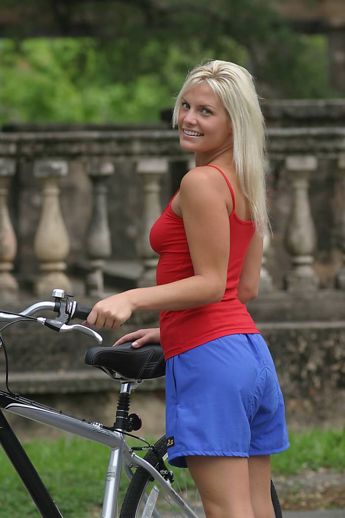 Girl White Bike Shorts by Crazy 8. 95% cotton/5% spandex jersey, Pull-on style and Machine washable; imported.